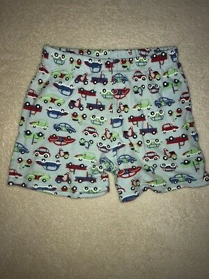 Baby Clothing Boys Sprout Pj Shorts Size 1 - Cars