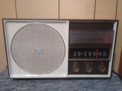 Rare 1960's Westinghouse Symphonaire 66 Radio - Model # H-760T6 - Tested/Works