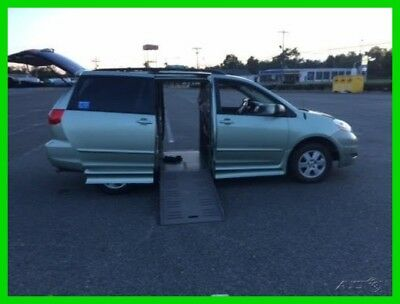Toyota Sienna LE VAN WHEELCHAIR HANDICAP POWER SIDE ENTRY 2008  Used 3.5L V6 24V Automatic FWD