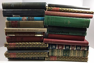 Lot of 10 Vintage - Current Books Collector Decorator Set *MIXED LOT UNSORTED*