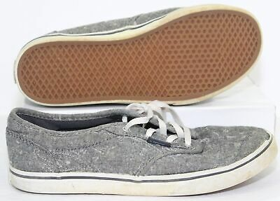 7a4d9655bef86f Vans Off The Wall Missy Gray Sneakers Youth Girls Skater Shoes Size 4 Y (US