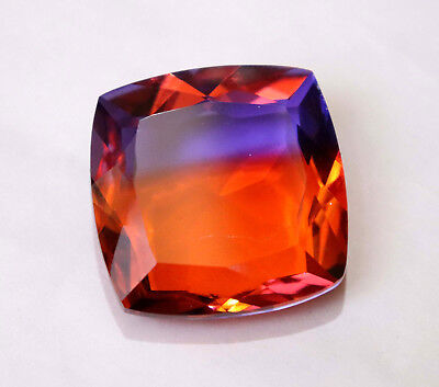 155.50 Ct Beautiful Cut Aaa Bi-Color Huge Ametrine Square Loose Gemstone
