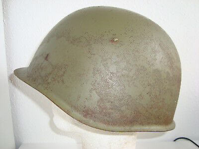 RARE RUSSIAN STEEL HELMET SSH 39 with 1939 STAMP,SIZE 3,RED STAR. ORGINAL