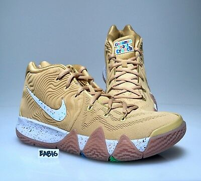 brand new 3adc1 b998f NIKE KYRIE IRVING 4 IV Cinnamon Toast Crunch Cereal Bred Brown Gold Mens &  Kids
