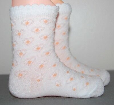 Gorgeous Baby Girls' Kids Pack of 2 Ankle High Socks Cotton White Age 24 Months