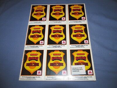 State Farm Insurance Official Smoke Detective Sticker 10 Sheets In Plastic Wrap