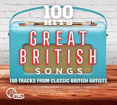 100 Hits: Great British Songs - Various Artists (Box Set) [CD]