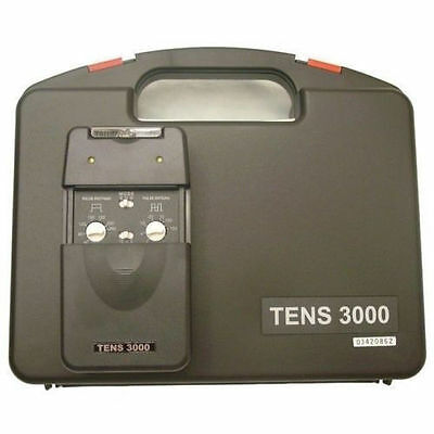 NEW TENS 3000 UNIT with ELECTRODES PADS,COMPLETE --OTC--+ 8 Electrodes Total