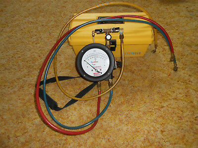 Backflow Test Equipment Test Kit, Certified 8/2/18, READY TO USE!