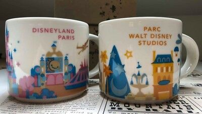 Starbucks YAH Mug -Walt Disney Studios And Disneyland Paris Park Mugs! Exclusive
