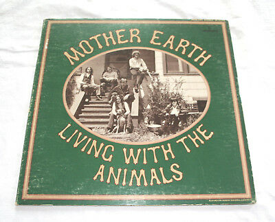 Mother Earth Vinyl-Lp Living With The Animals Mercury 1968 Blues-Rock Soul