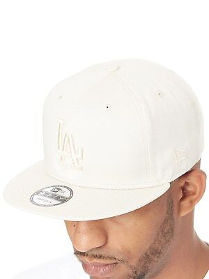 New Era Off White League Essential 9Fifty Los Angeles Dodgers Snapback Cap ee127a44f1be