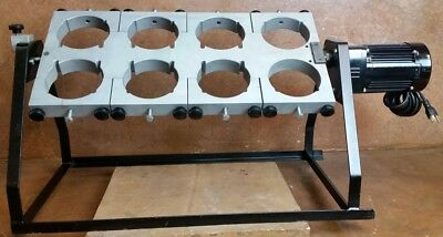 Analytical Testing Rotary Agitator / TCLP Tumbler * Eight Positions * Tested