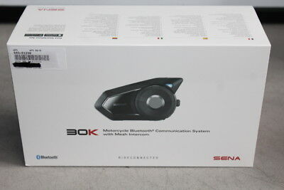 Sena 30K Bluetooth Motorcycle Headset Single 30K-01