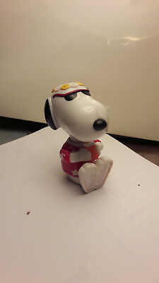 Mc Donalds McDonalds Figur 1999 Snoopy in Rot Blumen Shirt
