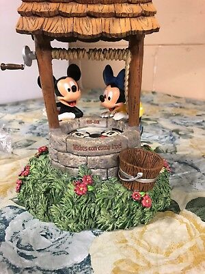 Walt's 100th Birthday 1928-2001 Wishing Well Bank Mickey and Minnie Mouse