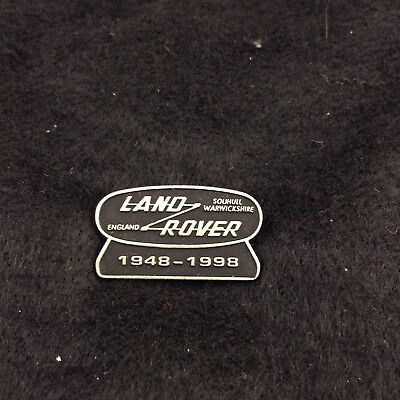 LAND ROVER 50th Anniversary Hat Lapel Pin 1998