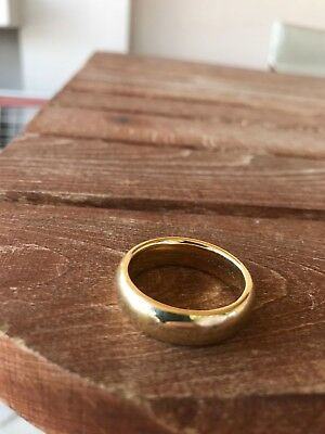 The Lord of the Rings Original 18k The One Ring by Jens Hansen with silver chain