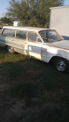 1963 Chevrolet Bel Air/150/210  1963 BEL AIRE STATION WAGON
