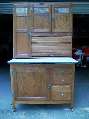 Antique Oak Hoosier Cabinet Sellers