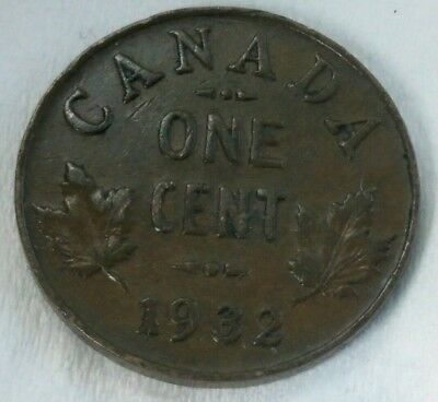 Small Cents 1932 Canada