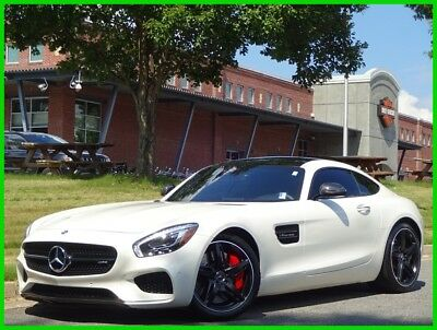 Mercedes-Benz AMG® GT WHITE TURBO CARBON FIBER BURMESTER PANORAMIC V8 GTS 2016 MERCEDES BENZ AMG GT S TURBO WHITE CLEAN CARFAX WE FINANCE & TRADE
