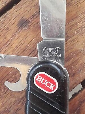 RARE Couteau suisse Swissbuck Trekker by Wenger - vintage discontinued knife