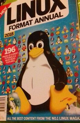 Linux Format Manual 2018 Magazine New 196 Pages Info facts Book