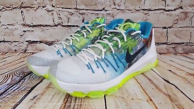 4342a7124ed4 NIKE KD V N7 Men s 13.5 New 599294-447 Rare 2013 Ds Native American ...