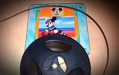 3 CARTOONS Super 8 WALT DISNEY   - DESSINS ANIMES  - DERANN - Mickey