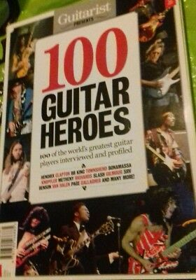 Guitarist Magazine Presents 100 Guitar Heroes 252 pages New Book