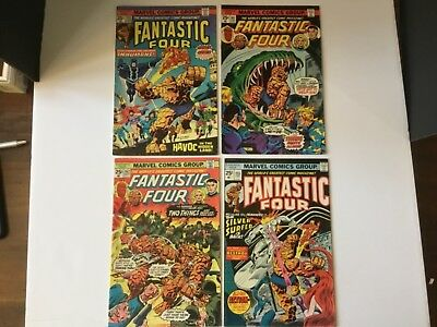 Fantastic Four Lot 14 Comics Fine-VF-
