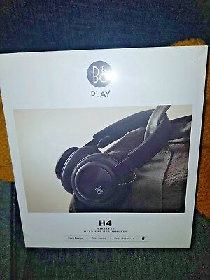 B&O PLAY by Bang & Olufsen Beoplay H4 Wireless Headphones - Black New and Boxed+