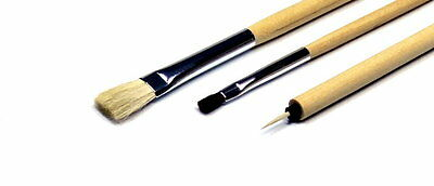 Tamiya Tools - Modelling Paint Brush Basic Set