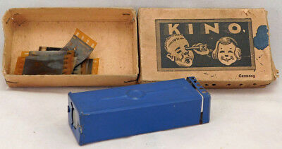 Germany Kino Film / Slide Viewer with Box and Some Film
