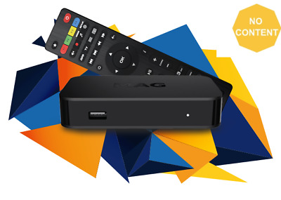 MAG 322 w1 Infomir Linux IPTV Box HEVC H.265 with WiFi WLAN Faster than 254