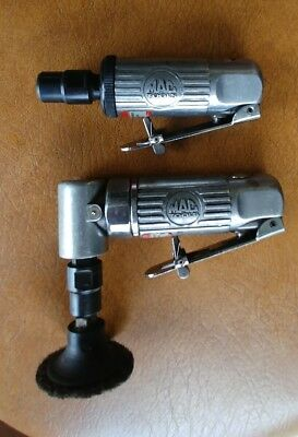 "MAC Tools 1/4"" Straight & Right Angle Mini Die Grinders AG14 & AG14AH"