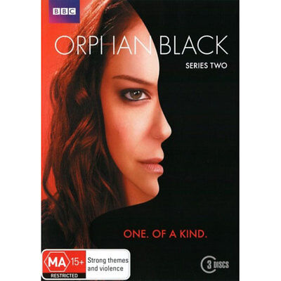 Orphan Black: Series 2 DVD 3 Disc Set  Brand New Region 4 Aust.