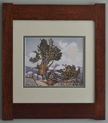 Mission Style William S Rice Arts & Crafts Framed Print- The Guardian