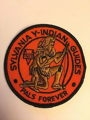 4 inch Round Sylvania YMCA Indian Guides - Pals Forever Patch