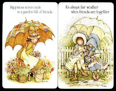 Holly Hobbie Swap Cards X2 Cards In Brand New Condition