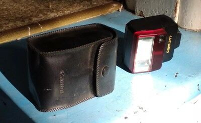 Canon Speedlite 277T Flash Unit As New Carry Case Works Nice Condition More List