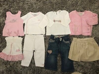 Diesel, Fred Bare, Billabong, Bebe, Guess Baby Girls Clothing, Bulk Lot - Size 0