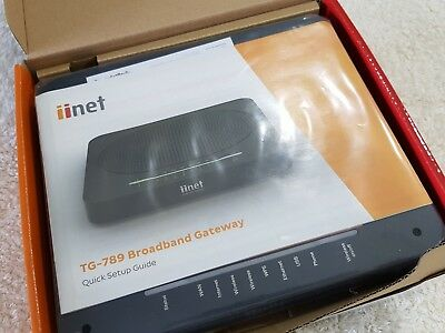 iiNet Modem NBN compatible (2018 Stock) BRAND NEW IN BOX