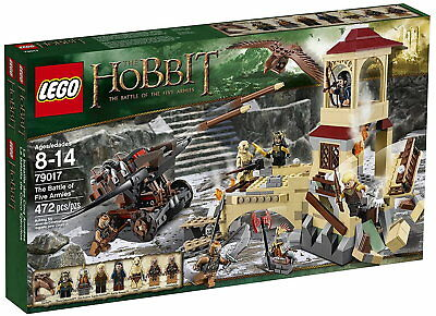 LEGO The Hobbit #79017 The Battle of Five Armies Pack Set 472pcs Brand New Fast