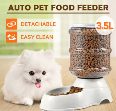 11L Pet Dog Cat Puppy Water Dispenser Feeder Bottle Bowl Dish Automatic Drinking