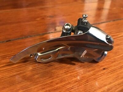 Shimano XT FD-M739 Front Derailleur Low Clamp On 31.8 Bottom Pull Very Good Cond