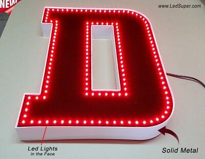 "New Led Channel Letter 20"" - WATERPROOF AND DUST PROOF - Custom made"