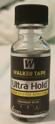 Walker Tape Ultra Hold 0.5fl oz Brush On Hair System Wig Adhesive