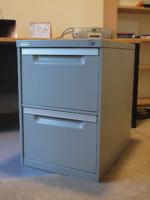 Two Drawer Steel Filing Cabinet